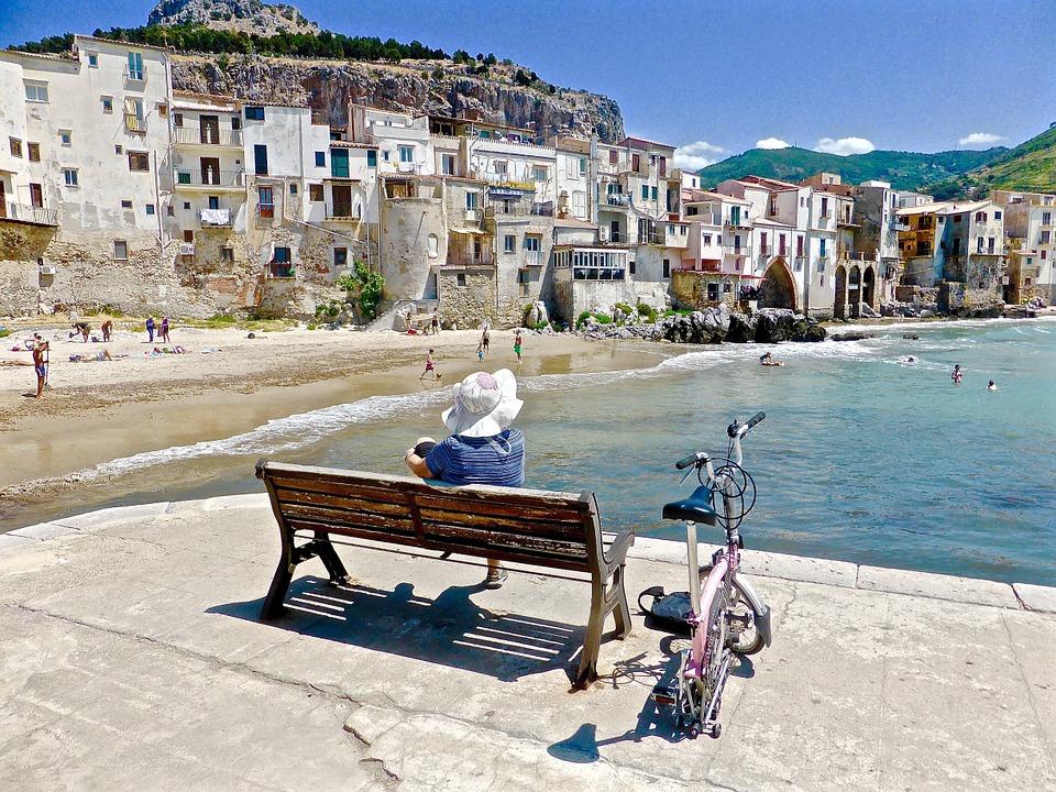 Panarea, italie, sicilie